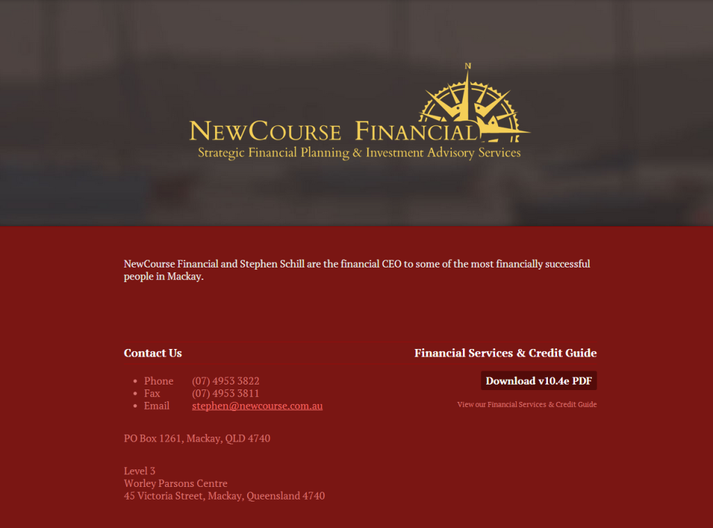 NewCourse Design